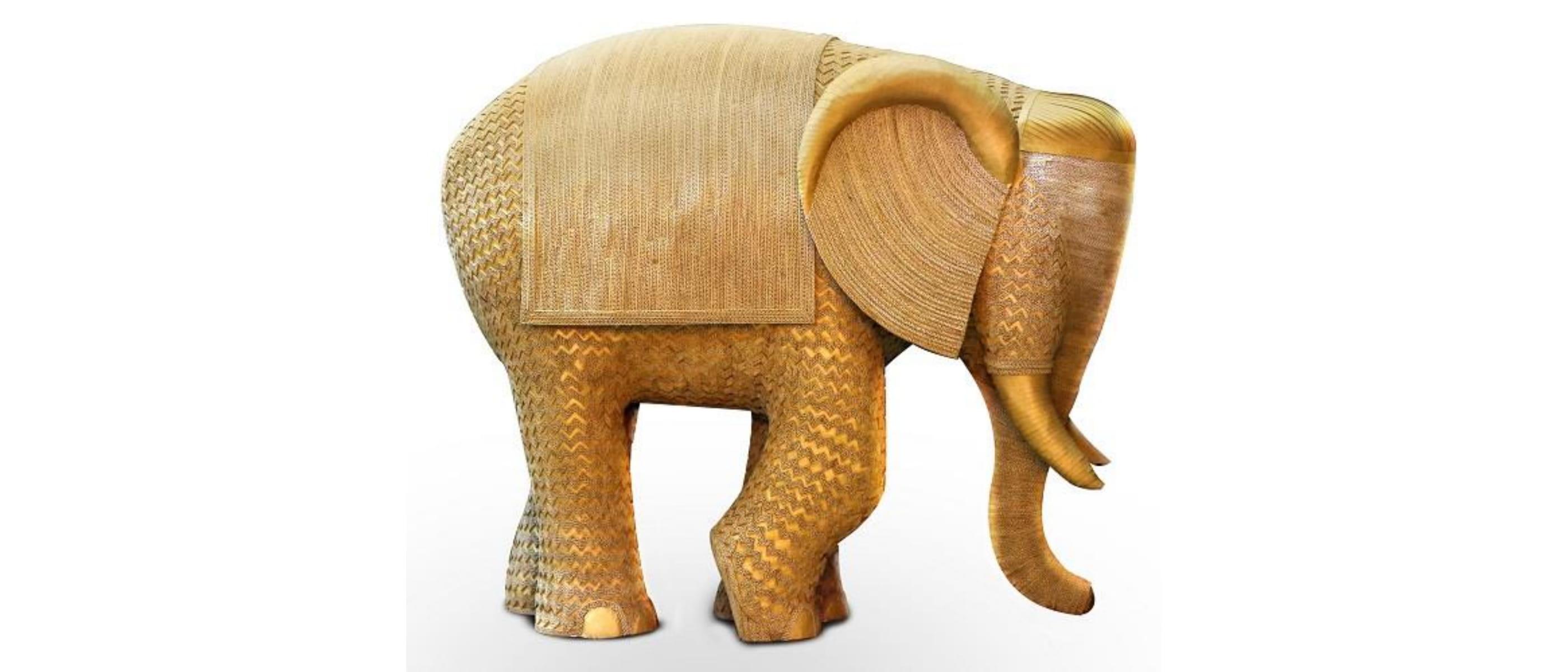 Gajodhar - Gajmahotsav - GajYatra - Cardboard Elephant